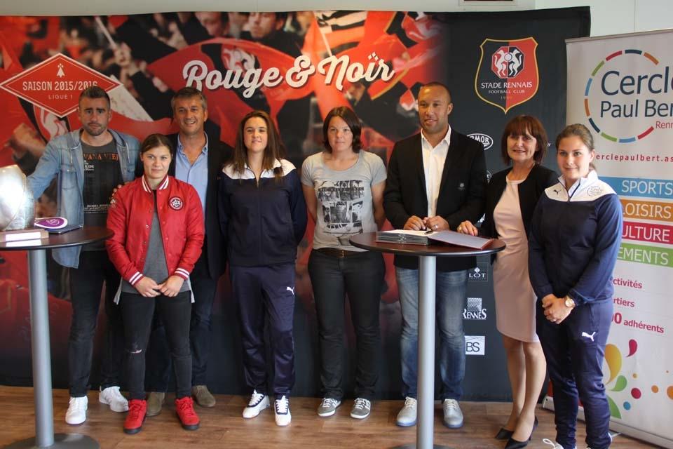 2016-06-17 Feminines partenariat Stade Rennais