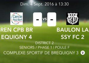 2016-09-04 Seniors H D2 Breq D vs Baulon Lassy B